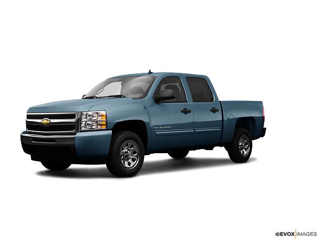 """2009 Chevrolet Silverado 1500 4WD CREW CAB 143.5"""" WORK TRUCK Clinton NC"""