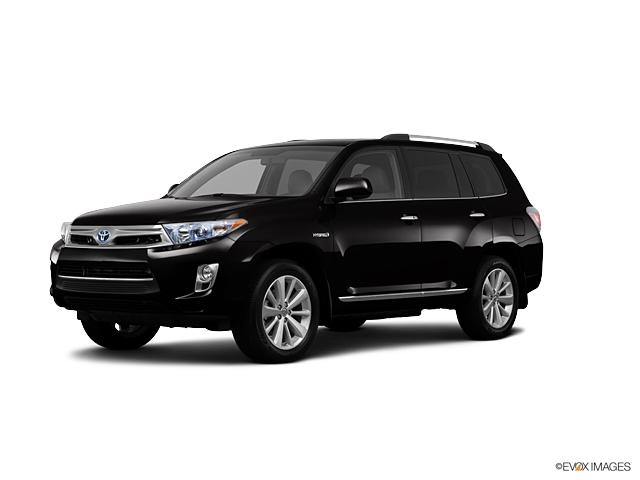 2013 Toyota Highlander Hybrid LIMITED Sport Utility Waxahachie TX