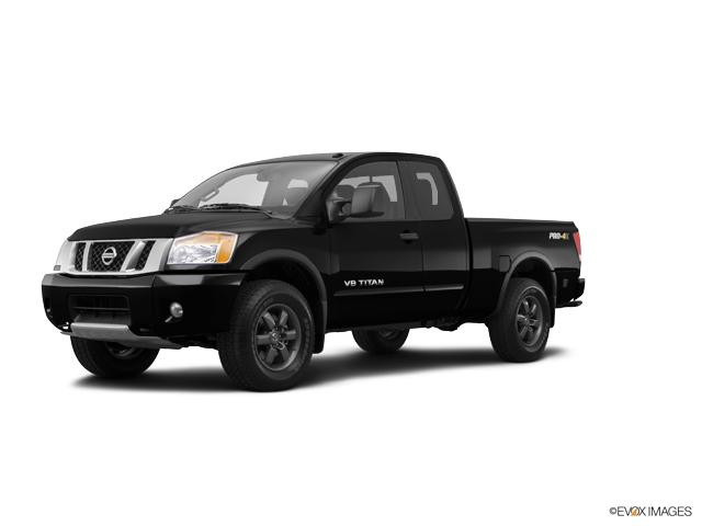 2014 Nissan Titan 4WD CREW CAB SWB PRO-4X