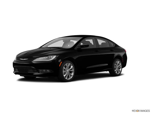 2015 Chrysler 200 4DR SDN S FWD  NC