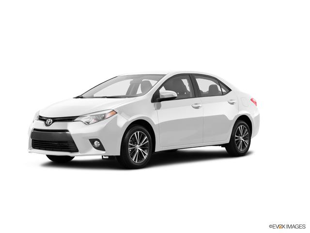 2016 Toyota Corolla LE 4dr Car