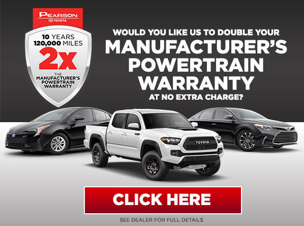 Fill Out This Form to DOUBLE Your Manufacturer's Powertrain Warranty