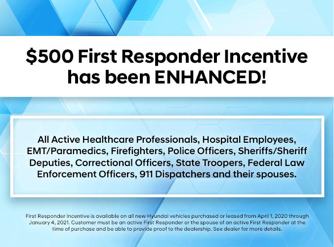 Hyundai First Responder Program
