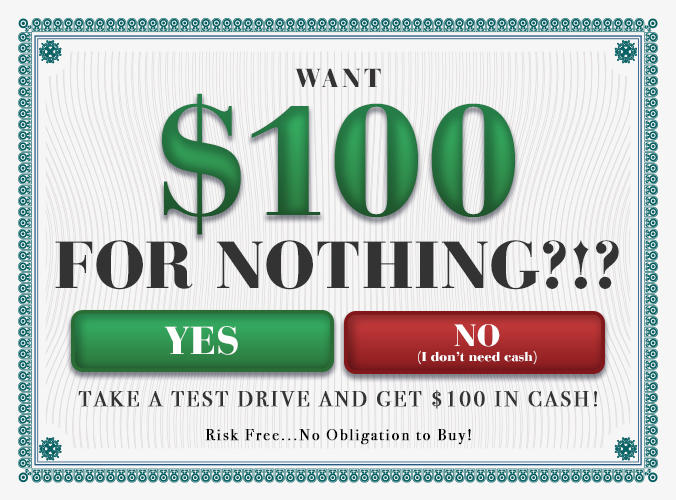 Fill Out This Form for Your $100!