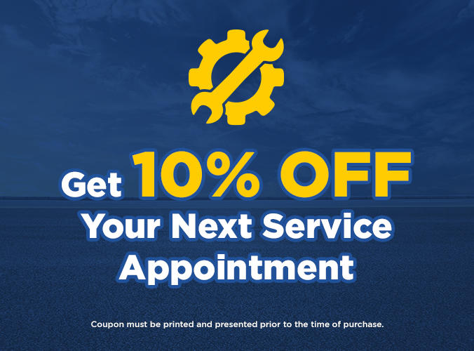 Get 10% Off Your Next Service Appointment