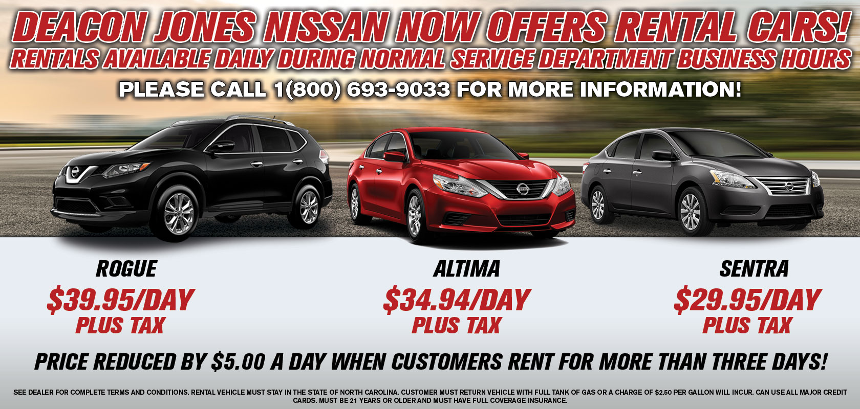 Yes, We Are A Nissan Dealership, But We Donu0027t Just Sell Cars   We Also Rent  Them!