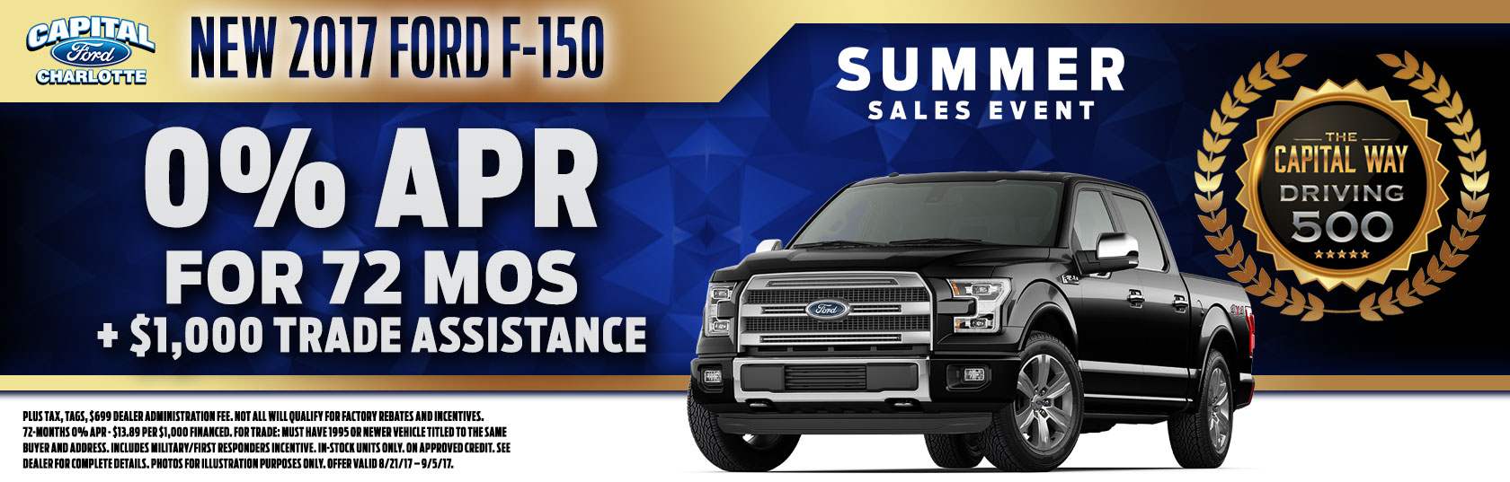 Capital Ford Charlotte >> 0 For 72 Months