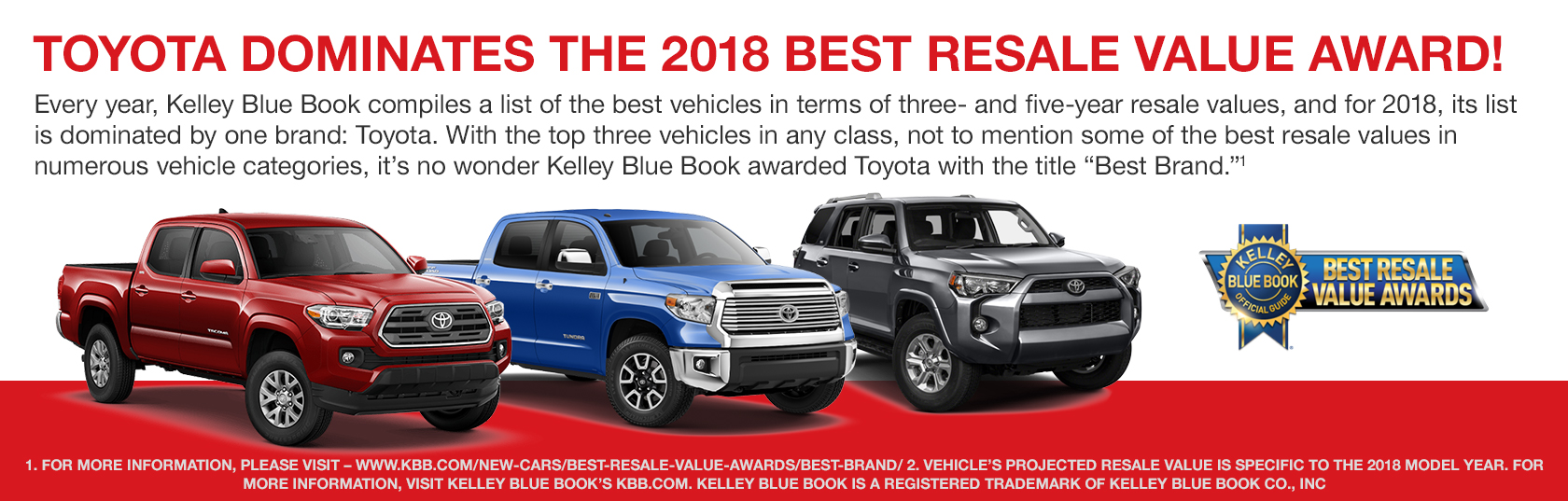 Kbb Award Toyota Of North Charleston Sc