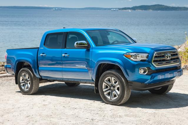2016 Toyota Tacoma SR Long Bed Slide 0
