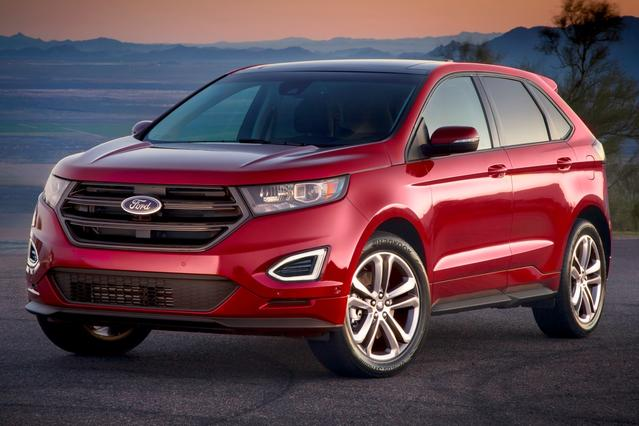2016 Ford Edge SEL SEL 4dr Crossover Slide 0