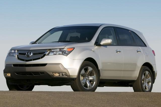 2007 Acura Mdx SPORT/ENTERTAINMENT PKG SUV Slide 0