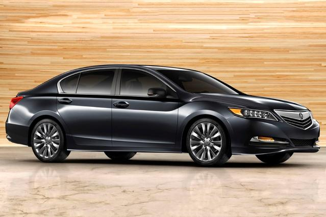 2014 Acura RLX  4dr Car Slide 0