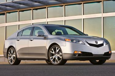 2010 Acura TL TECH 18 WHEELS Sedan Slide