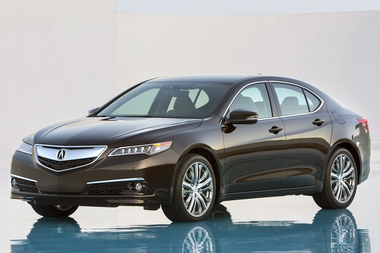 2015 Acura TLX 3.5L V6 4dr Car Slide 0