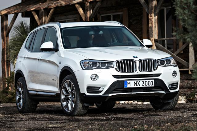 2015 BMW X3 XDRIVE28D Sport Utility Slide 0