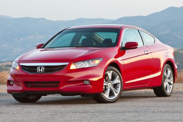 2012 Honda Accord Cpe EX-L 2dr Car Slide 0