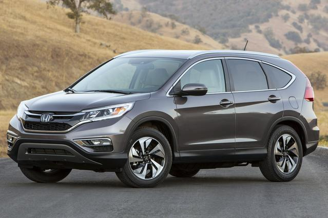 2015 Honda CR-V TOURING SUV Slide 0