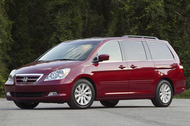 2007 Honda Odyssey TOURING Minivan Slide 0