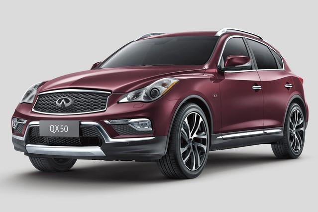 2016 INFINITI QX50 BASE Slide 0