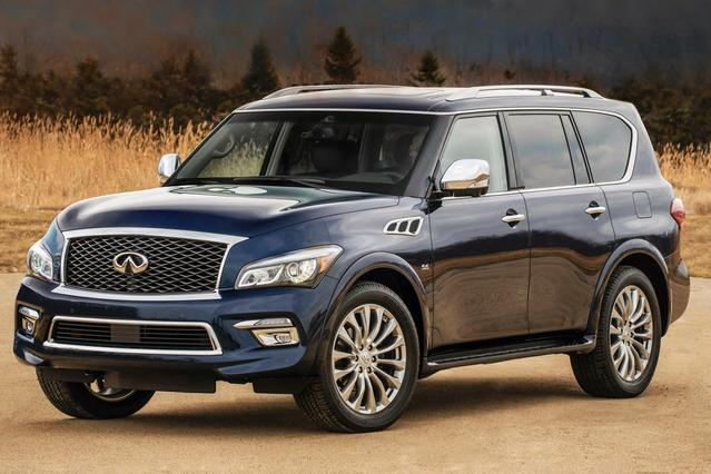 2016 INFINITI QX80 BASE Slide 0