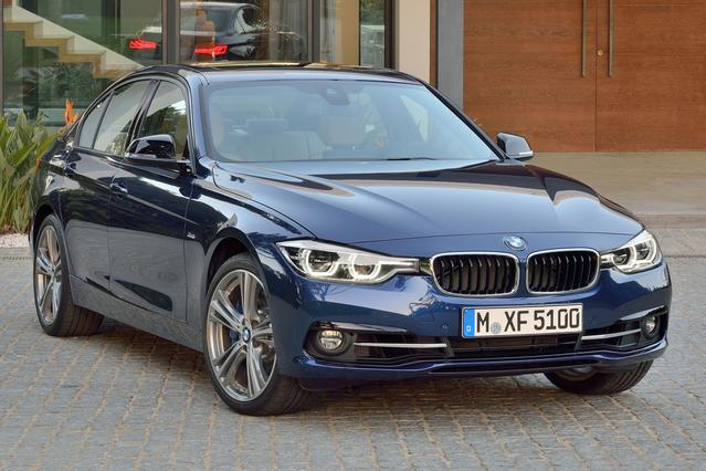 2016 BMW 3 Series 320I XDRIVE 4dr Car Slide 0