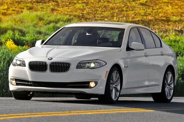 2012 BMW 5 Series 535I 4dr Car Slide 0