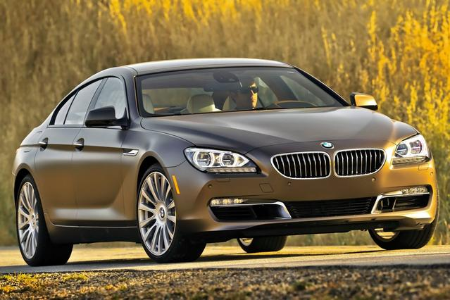 2015 BMW 6 Series 650I 4dr Car Slide 0