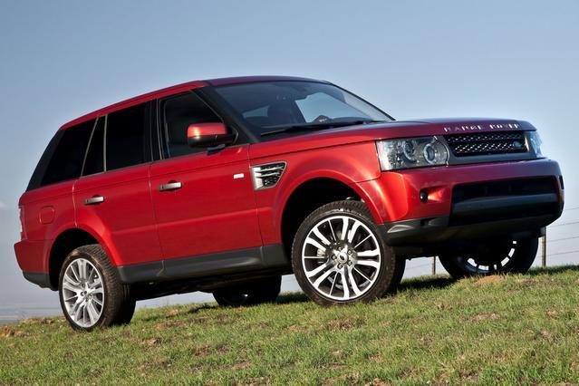 2012 Land Rover Range Rover Sport HSE LUX Sport Utility Slide 0