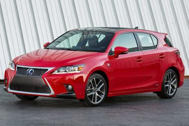 2014 Lexus CT 200h HYBRID Hatchback Slide