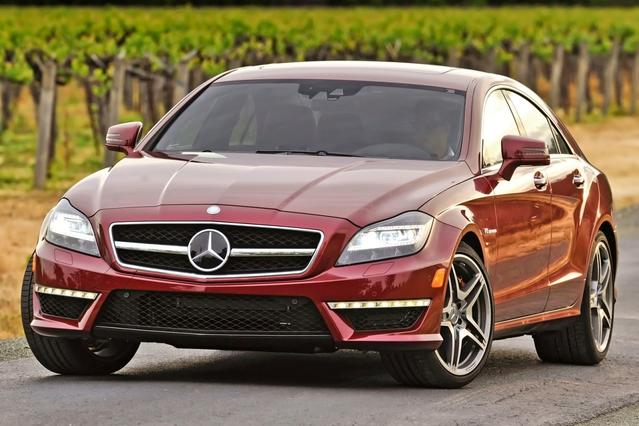 2014 Mercedes-Benz CLS CLS 550 Slide 0