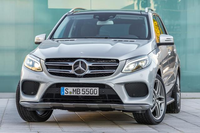 2016 Mercedes-Benz GLE 350 SUV Slide 0