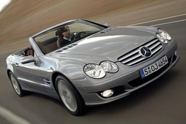 2007 Mercedes-Benz SL-Class 5.5L V8 Convertible Slide 0