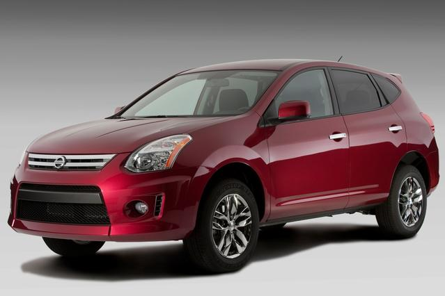 2010 Nissan Rogue S SUV Slide 0