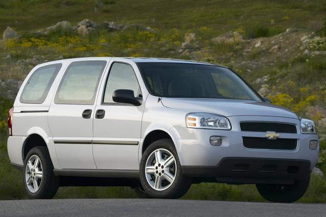 2007 Chevrolet Uplander LT W/2LT Mini-van, Passenger Slide 0