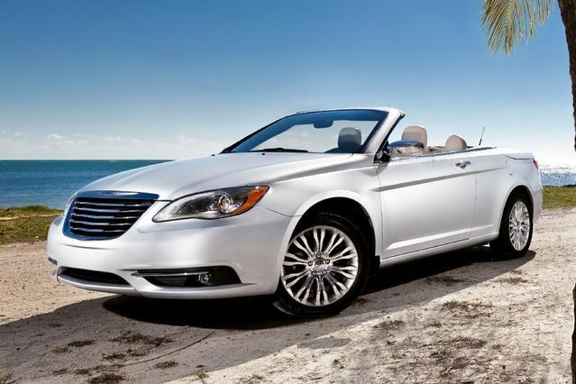 2012 Chrysler 200 LIMITED 4dr Car Slide 0