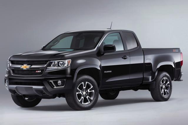 2016 Chevrolet Colorado WORK TRUCK Extended Cab Pickup Slide 0
