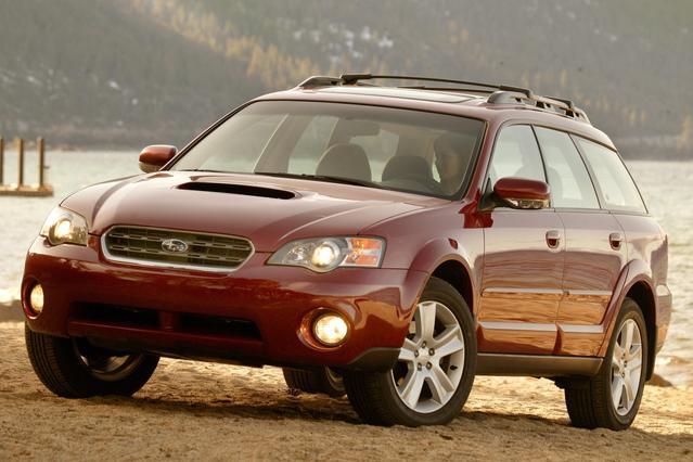 2007 Subaru Legacy Sedan OUTBACK LTD 4dr Car Slide 0