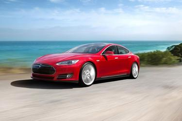 2014 Tesla Model S 60 KWH BATTERY Hatchback Slide