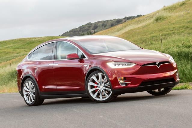 2016 Tesla Model X P90D Slide 0