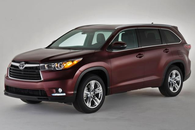 2014 Toyota Highlander LIMITED Slide 0