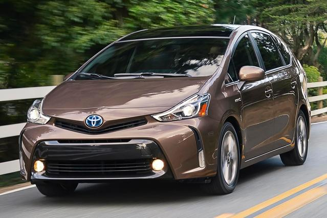 2015 Toyota Prius v THREE Station Wagon Slide 0