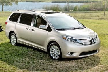 2015 Toyota Sienna LIMITED PREMIUM 7-PASSENGER AWD Limited Premium 7-Passenger 4dr Mini-Van Green Brook NJ