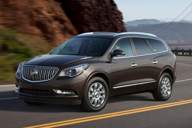 2015 Buick Enclave LEATHER Sport Utility Slide 0