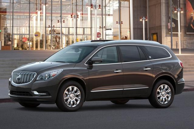 2017 Buick Enclave LEATHER Sport Utility Slide 0