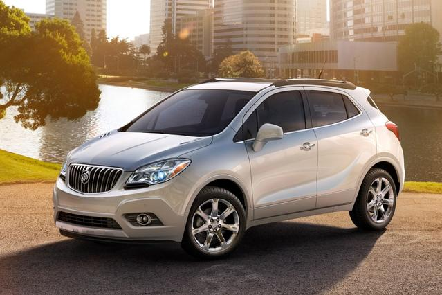 2014 Buick Encore BASE Sport Utility Slide 0