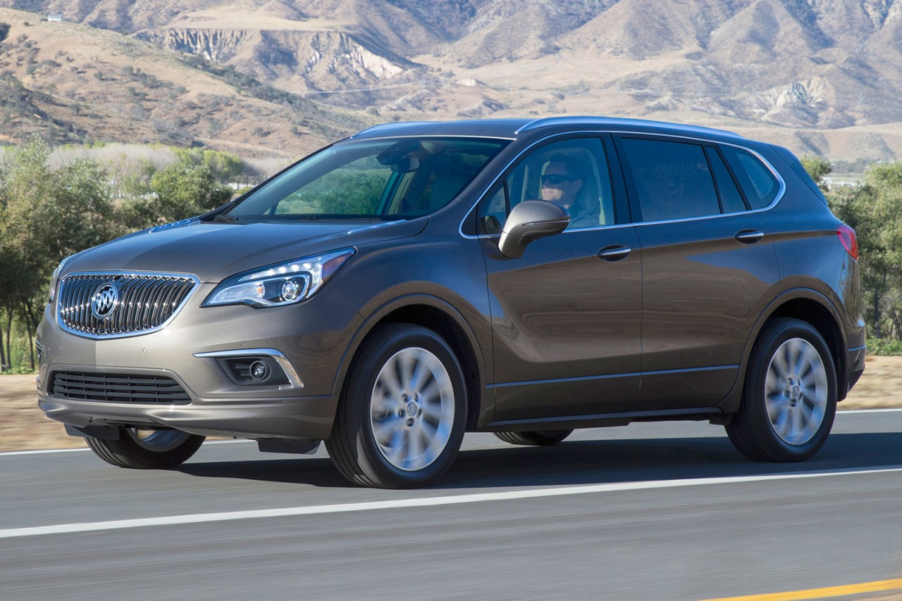 2017 Buick Envision PREFERRED Sport Utility Slide 0