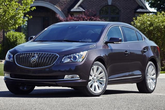 2014 Buick Lacrosse  4D Sedan Slide 0