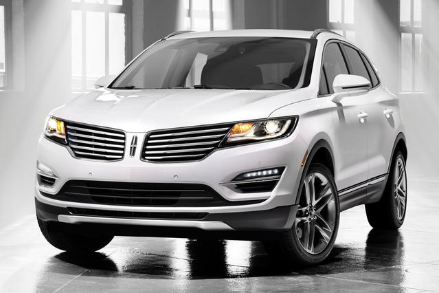 2016 Lincoln Mkc SELECT SUV Slide 0