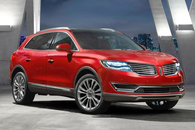 2016 Lincoln MKX RESERVE Slide 0
