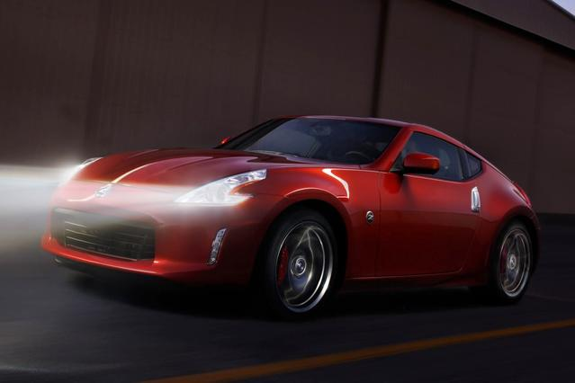 2013 Nissan 370Z BASE 2dr Car Slide 0